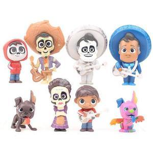 Coco Set De 8 Figuras Disney Pixar Envío Gratis