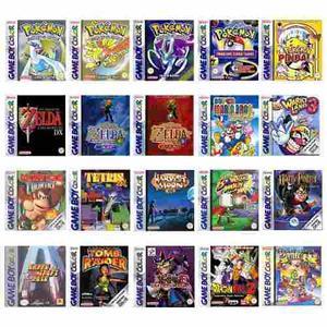 Colección Juegos Game Boy Color Todos Para Pc Y Android