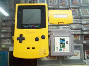 Consola Game Boy Color Con Tapa De Las Baterias