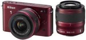 Cuerpo De La Camara Nikon 1 J2 Blanco Nikkor Vr 10-30mm Jueg