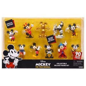 Disney Mickey Mouse 90th True Original Set 10 Figuras