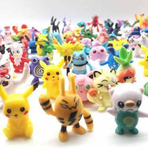 Excelente Colección 144 Figuras Al Azar De Pokemon 2-3 Cm