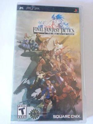 Final Fantasy Tactics The War Of The Lions Psp Playstation