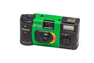 Fujifilm Camara Desechable Fuji Quick Snap Super 800 Con Fla