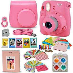 Fujifilm Instax Mini 9 Instantánea Fuji Cámara Flamingo Ro