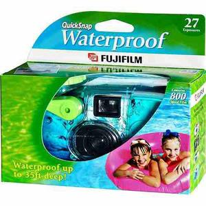 Fujifilm Quick Snap Cámara Desechable A Prueba De Agua