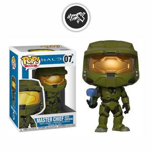 Funko Pop Master Chief With Cortana 07 Halo Xbox Pop Games