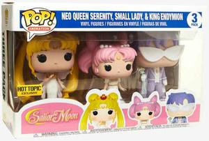 Funko Pop Sailor Moon 3 Pack Neo Small Exclusive Hot Topic