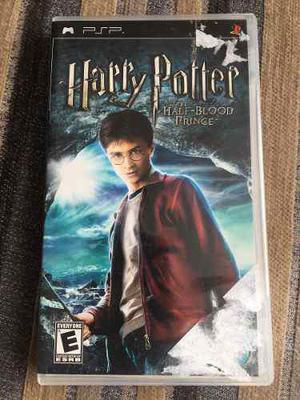 Harry Potter And The Half Blood Prince Para Psp