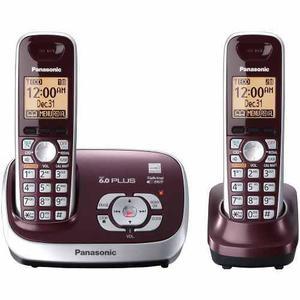 Kit 2 Teléfonos Inalámbricos Panasonic Tg6572r