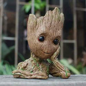 Maceta Baby Groot Guardianes De La Galaxya Envio Gratis