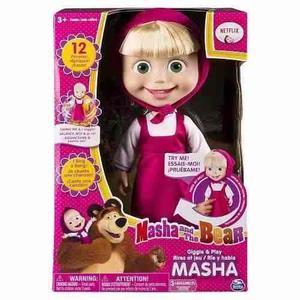 Masha Y El Oso 28 Cm Habla 12 Frases Oferta Spin Master