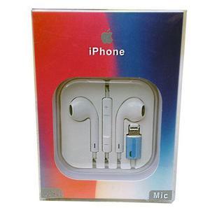 Mayoreo 10 Earpods Lightning Iphone 7,iphone 8, Iphone X