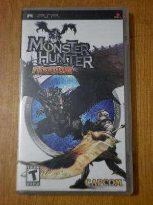 Monster Hunter Freedom Videojuego Para Psp