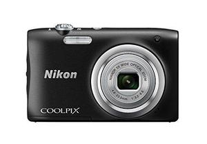 Nikon Coolpix A100 20.1 Mp Point & Shoot Digital Camera, Bla