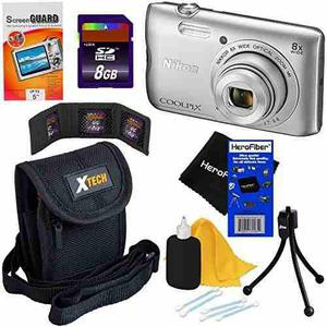 Nikon Coolpix A300 20.1 Mp Digital Camera With 8x Zoom Nikko