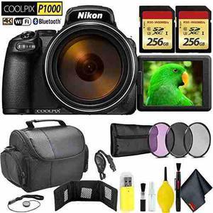 Nikon Coolpix P1000 Digital Camera + 512gb Memory Card Trave