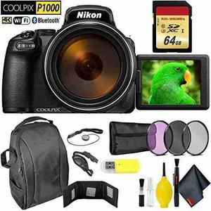 Nikon Coolpix P1000 Digital Camera + 64gb Memory Card Extrem