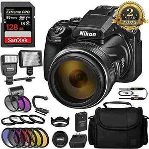 Nikon Coolpix P1000 Digital Camera And Sandisk Extreme Pro 1