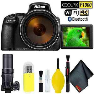 Nikon Coolpix P1000 Digital Camera Base Kit International Mo