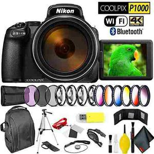 Nikon Coolpix P1000 Digital Camera Professional Kit Internat