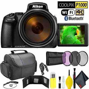 Nikon Coolpix P1000 Digital Camera Travel Kit International