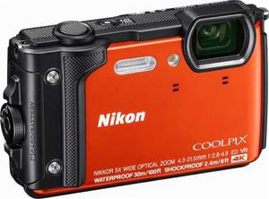 Nikon Coolpix W300 Waterproof Digital Camera 16 Mp- Orange