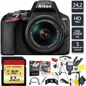 Nikon D3500 Dslr Camera With 18-55mm Lens + 32gb Memory Card