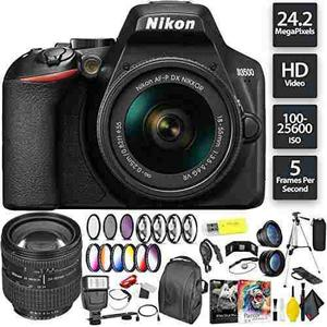 Nikon D3500 Dslr Camera With 18-55mm Lens + Nikon Af Zoom-ni