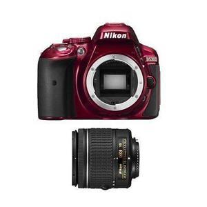 Nikon D5300 Cuerpo Rojo Con P Af 18-55mm Vr (af) Lente -8986