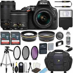 Nikon D5600 24.2 Mp Dslr Camera (black) W/af-p Dx Nikkor 18-