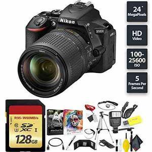 Nikon D5600 Dslr Camera + 18-140mm Lens + 128gb Memory Card