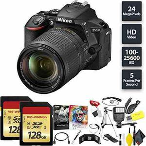 Nikon D5600 Dslr Camera + 18-140mm Lens + 256gb Memory Card