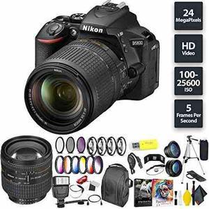 Nikon D5600 Dslr Camera + 18-140mm Lens + Nikon 24-85mm Lens