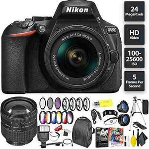 Nikon D5600 Dslr Camera + 18-55mm Lens + Nikon 24-85mm Lens