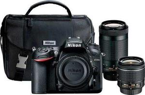 Nikon - D7200 Dslr Camera With 18-55mm And 70-300mm Lenses -