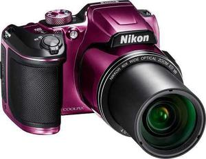 Nikon - Refurbished Coolpix B500 16.0-megapixel Digital Came