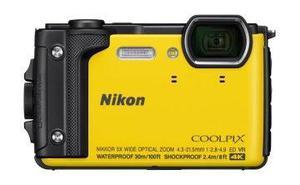 Nikon W300yel Camara Todo Terreno 4k 16 Mp Wifi Nfc Gps Blue
