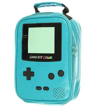 Nintendo Game Boy Color Caja De Almuerzo Del Bolso Del Refri