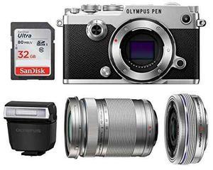 Olympus Pen-f Mirrorless Micro Four Thirds Digital Camera Wi