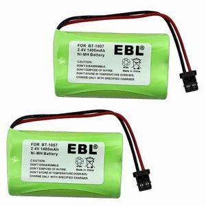Pack De 2 Baterías Teléfono Uniden Bt-1007, Envío Gratis