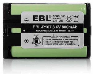 Pack De 3 Baterías Panasonic Hhr-p107, Envío Gratis !!