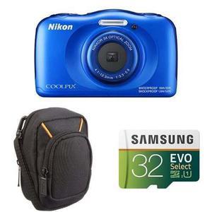 Paquetes De Inicio Nikon Coolpix W100 (azul) (1)