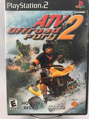 Playstation 2 Atv Off Road Fury 2 Video Juego Usado