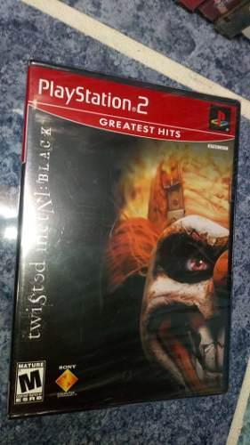 Playstation 2 Ps2 Juego Twisted Metal Black Nuevo Con Envío