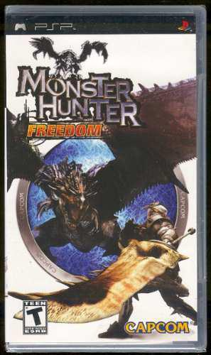 Psp Monster Hunter Freedom Nuevo Envio Gratis Bfn