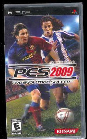 Psp Pes 2009 Pro Evolution Envio Gratis Nuevo