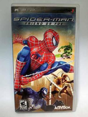 Psp Spider-man Friend Or Foe.