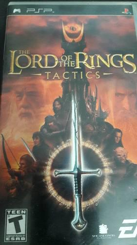 Psp The Lord Of The Rings Tactics/envío Gratis