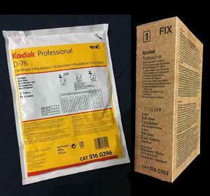 Revelador D76 Y Fijador Kodak Rapid Fix P/ Papel O Peli..